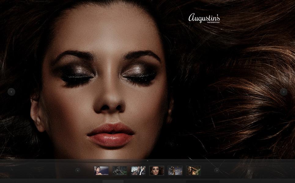 Plantilla Moto CMS HTML #40325 para Sitio de Portafolio de fotógrafo New Screenshots BIG