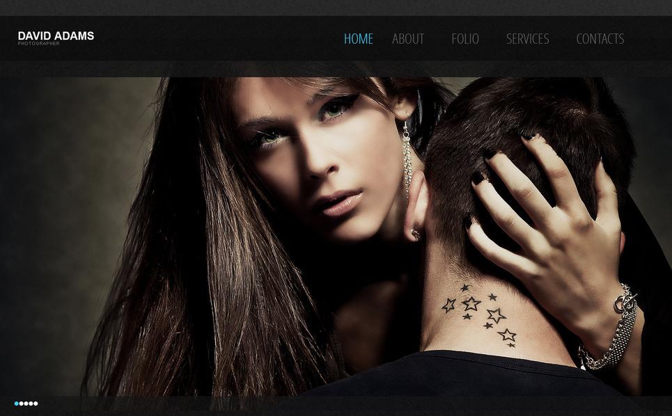 Template Moto CMS HTML para Sites de Portfólio de Fotografo №40329 New Screenshots BIG