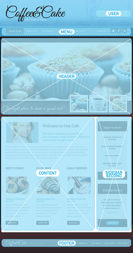 Drupal Template 40338 Main Page Screenshot