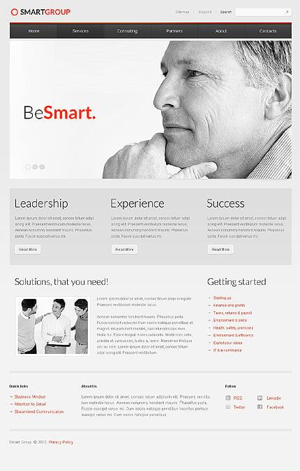 Drupal Template 40340 Main Page Screenshot