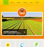 Agriculture Drupal  Template 40373