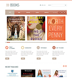 Books Joomla  Template 40382