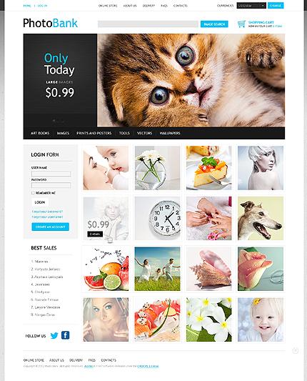ADOBE Photoshop Template 40387 Home Page Screenshot