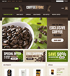 Cafe & Restaurant VirtueMart  Template 40388