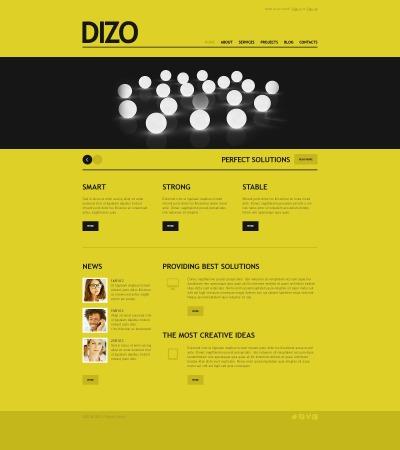 Адаптивный Drupal шаблон №40339 на тему маркетинговое агентство