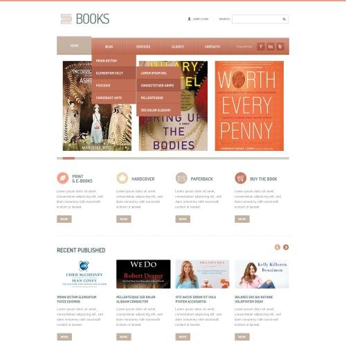 Books - Joomla! Template