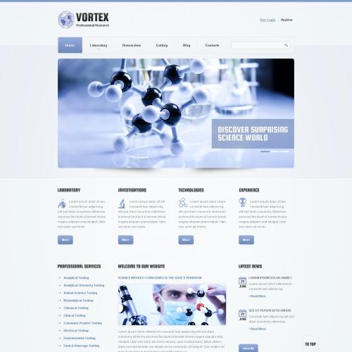 Vortex - Responsive Joomla! Template