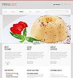 Cafe & Restaurant Joomla  Template 40400