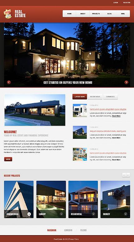Joomla Theme/Template 40407 Main Page Screenshot