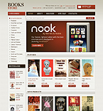 Books OpenCart  Template 40408