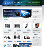 Electronics osCommerce  Template 40438