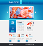 Food & Drink Website  Template 40446