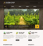Agriculture Website  Template 40447