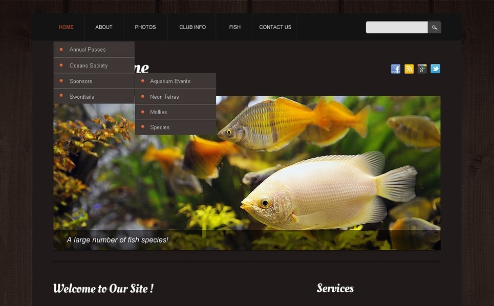 响应式网页模板 New Screenshots BIG