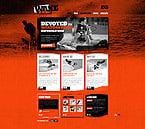 Sport Website  Template 40453