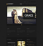 Religious Website  Template 40459