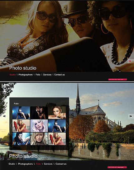 ADOBE Photoshop Template 40462 Home Page Screenshot