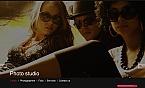 Art & Photography Moto CMS HTML  Template 40462