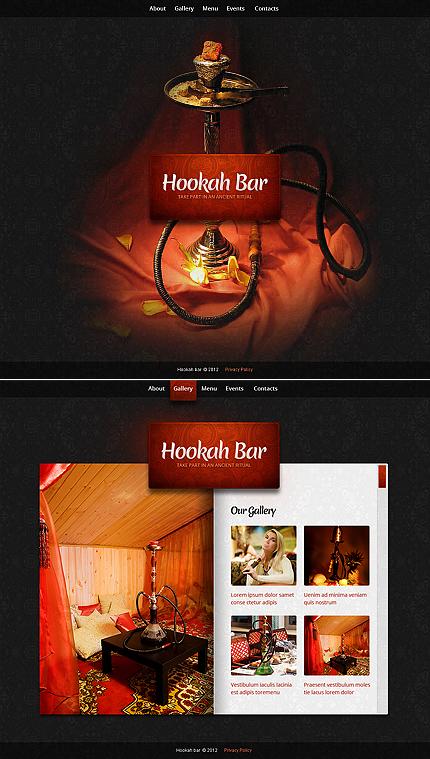 ADOBE Photoshop Template 40463 Home Page Screenshot