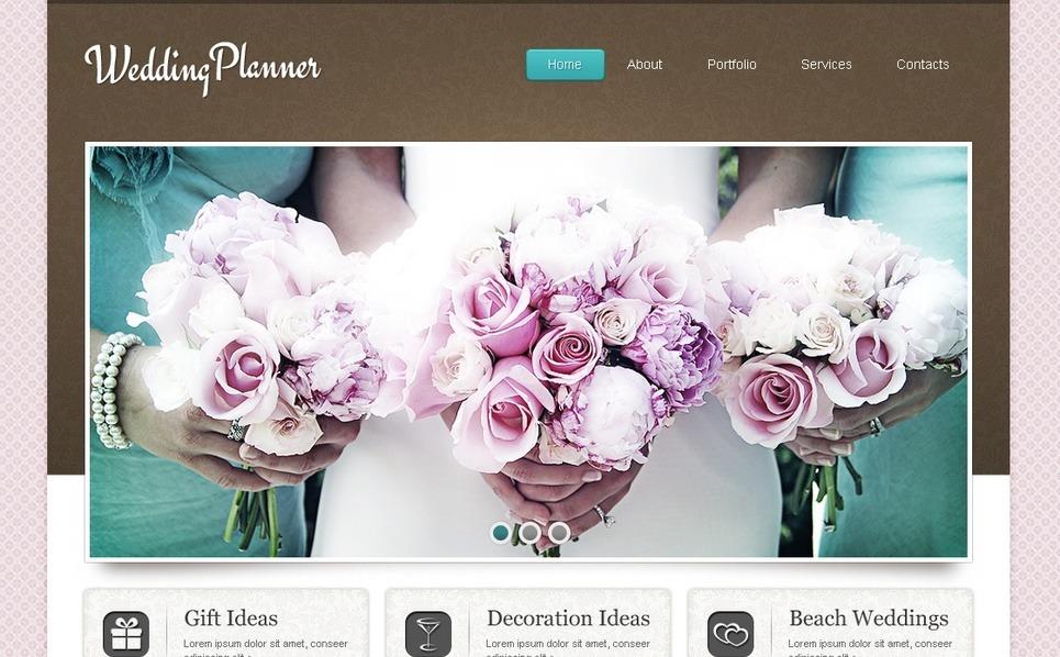 Düğün Planlayıcısı  Moto Cms Html Şablon New Screenshots BIG