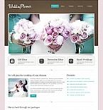 Wedding Moto CMS HTML  Template 40468