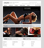 Fashion OpenCart  Template 40480
