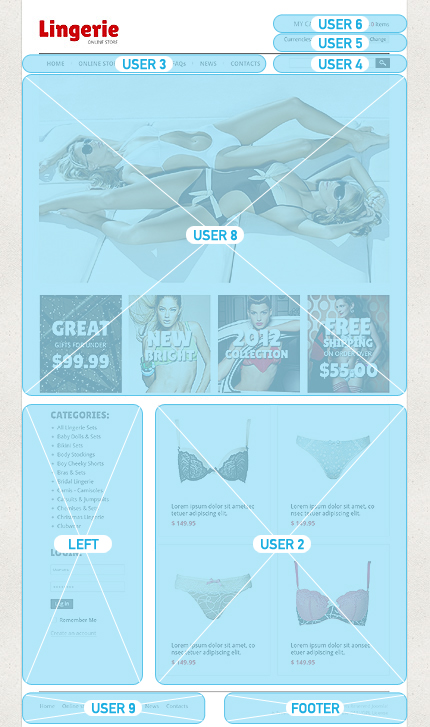 ADOBE Photoshop Template 40485 Home Page Screenshot