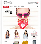 Fashion VirtueMart  Template 40486