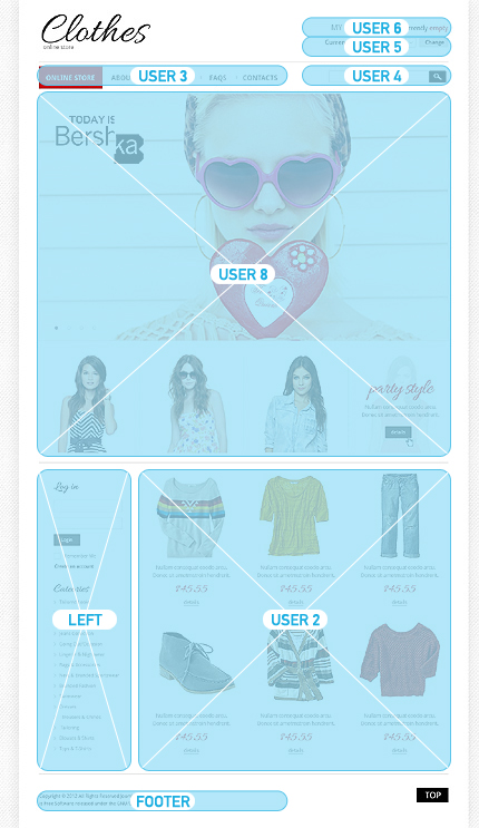ADOBE Photoshop Template 40486 Home Page Screenshot