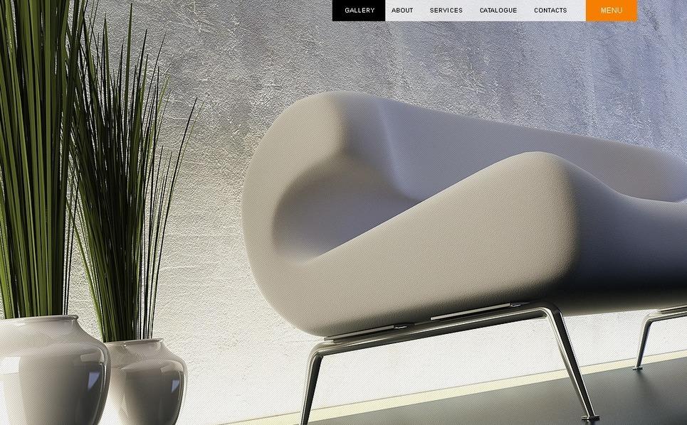 Šablona webových stránek Design interiéru New Screenshots BIG