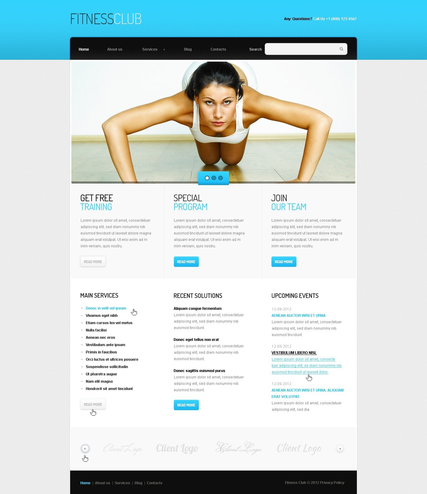Free Fitness Newsletter Templates Boatjeremyeatonco - Online newsletter templates free