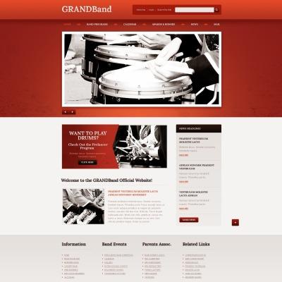 22+ Best Music Band Website Templates