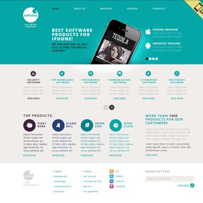 19+ Best Software Company Website Templates