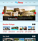 Travel Website  Template 40503