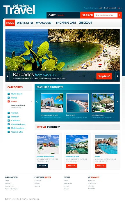 ADOBE Photoshop Template 40518 Home Page Screenshot