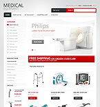 Medical OpenCart  Template 40519