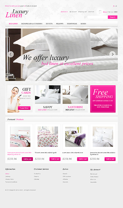ADOBE Photoshop Template 40521 Home Page Screenshot