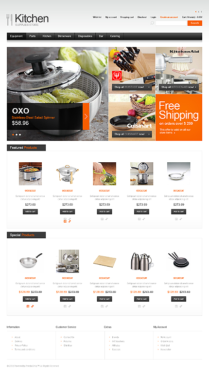 ADOBE Photoshop Template 40522 Home Page Screenshot