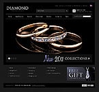 Jewelry osCommerce  Template 40526