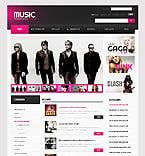 Music ZenCart  Template 40542