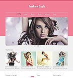 Fashion Website  Template 40548