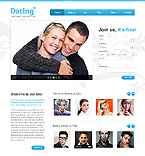 Dating Website  Template 40552