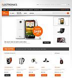 Electronics ZenCart  Template 40588