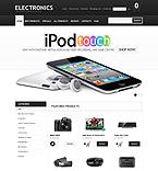 Electronics ZenCart  Template 40589