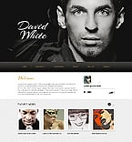 Personal Page Website  Template 40592