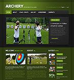 Sport Website  Template 40595