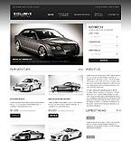 Cars Website  Template 40596