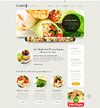Food & Drink Website  Template 40597