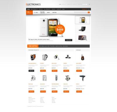 Szablon ZenCart #40588 na temat: sklep elektroniczny