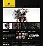 Art & Photography Website  Template 40601